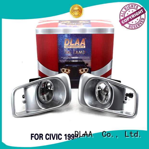 DLAA Wholesale 5 inch round led fog lights company for Honda Cars