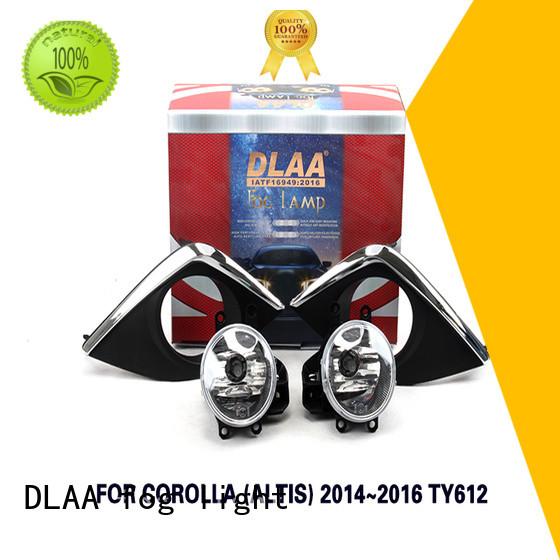 DLAA allion red fog lights factory for Toyota Cars