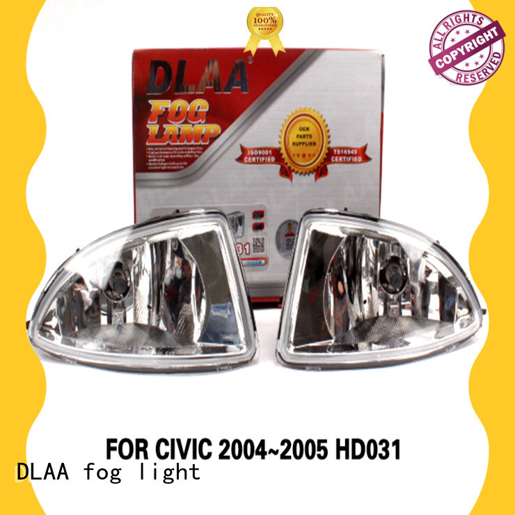 DLAA High-quality round fog lamps for business for Honda Cars