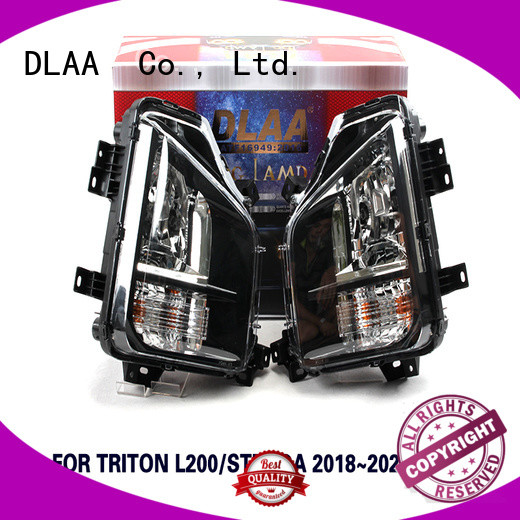 DLAA Wholesale white led fog lights Supply for Mitsubishi Cars