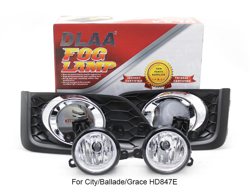 DLAA Fog Lamp Set Bumper Lamp For City/Ballade/Grace HD847E