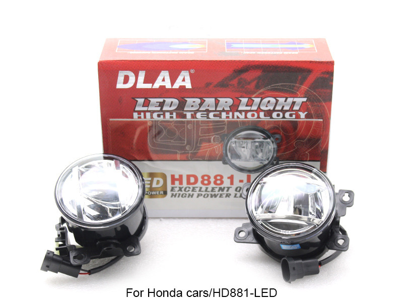 DLAA  Fog Lamp Set Bumper Lamp LED Universal lamp For Honda Cars
