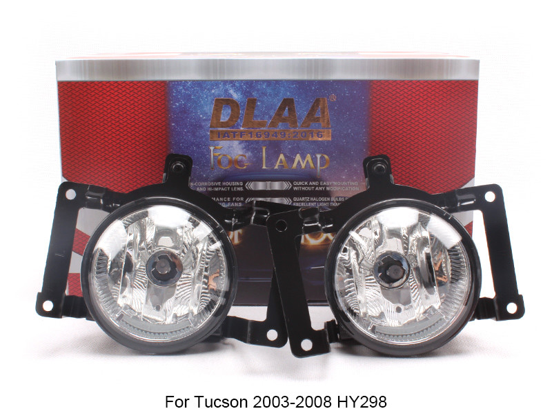 DLAA  Fog Lamp Set Bumper Lamp For Tucson 2003-2008 HY298