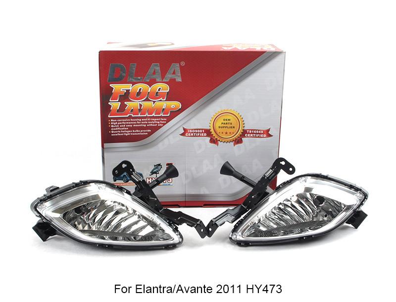 DLAA  Fog Lamp Set Bumper Lamp For Elantra/Avante 2011 HY473