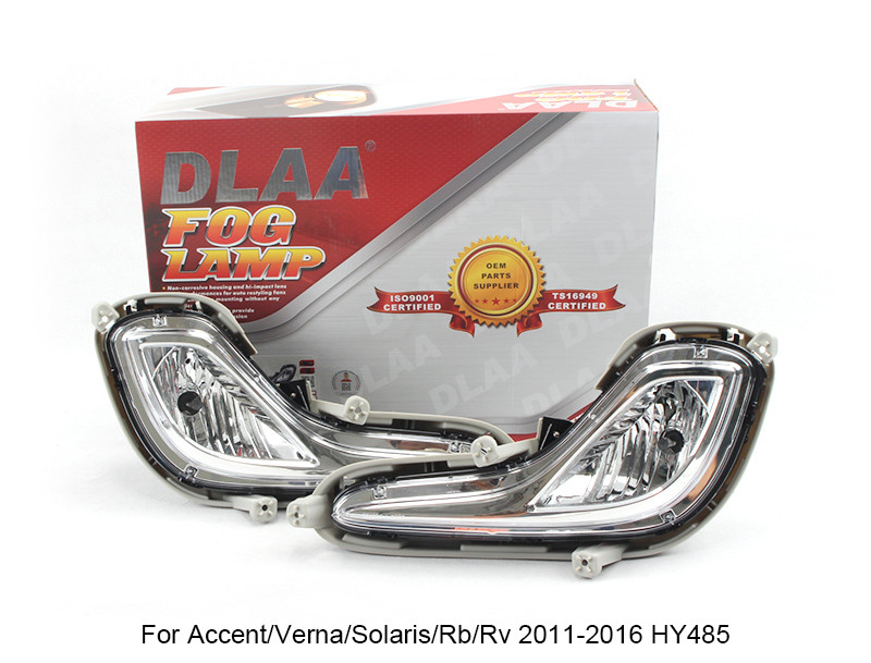 DLAA  Fog Lamp Set Bumper Lamp For Accent/Verna/Solaris/Rb/Rv 2011-2016 HY485