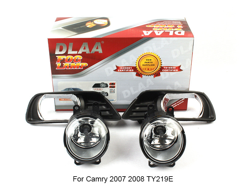 DLAA  Fog Lamp Set Bumper Lamp For Camry 2007 2008 TY219E