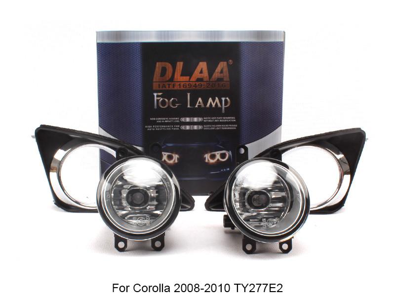DLAA  Fog Lamp Set Bumper Lamp For Corolla 2008-2010 TY277E2