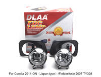 DLAA Fog Lamp Set Bumper Lamp For Corolla 2011-ON(Japan type)/Fielder/Axio 2007 TY308