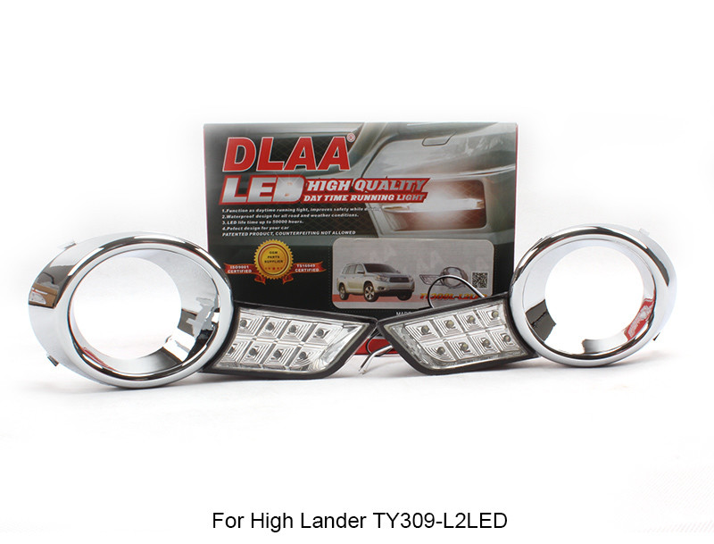 DLAA  Fog Lamp Set Bumper Lamp For High Lander TY309-L2LED