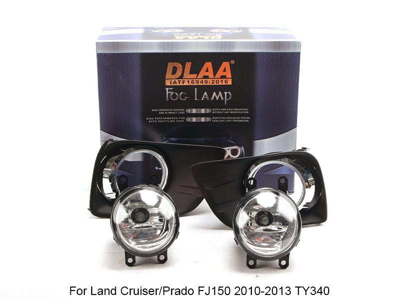 DLAA  Fog Lamp Set Bumper Lamp For Land Cruiser/Prado FJ150 2010-2013 TY340