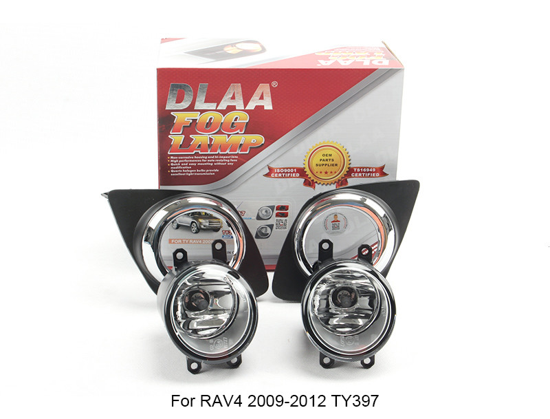 DLAA Fog Lamp Set Bumper Lamp For RAV4 2009-2012 TY397