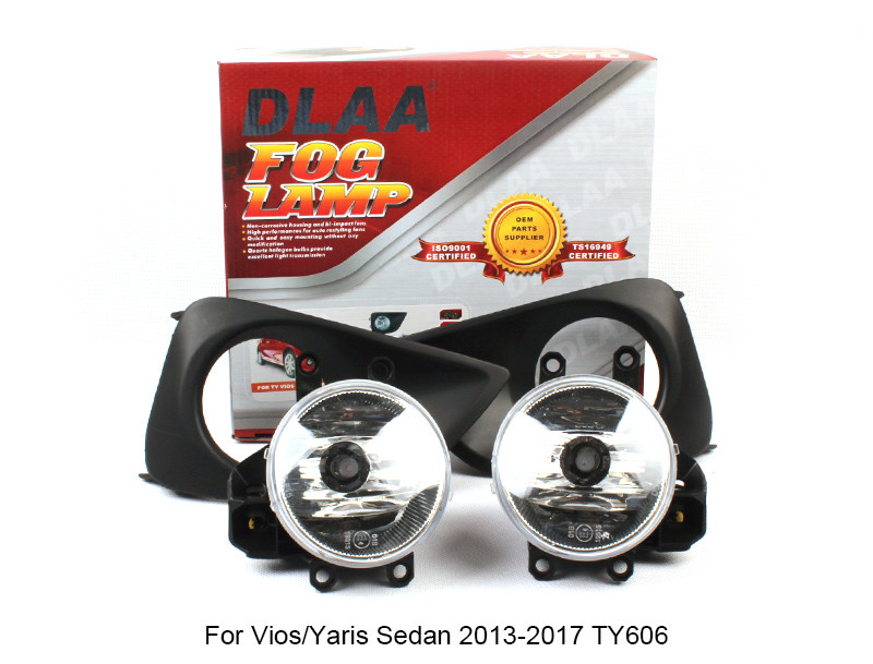 DLAA Fog Lamp Set Bumper Lamp For Vios/Yaris Sedan 2013-2017 TY606