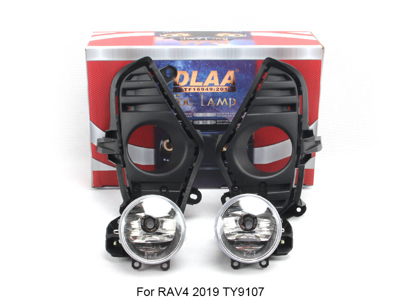 DLAA  Fog Lamp Set Bumper Lamp For RAV4 2019 TY9107