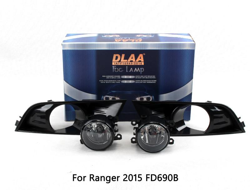 DLAA Fog Lamp Set Bumper Lamp For Ranger 2015-2018