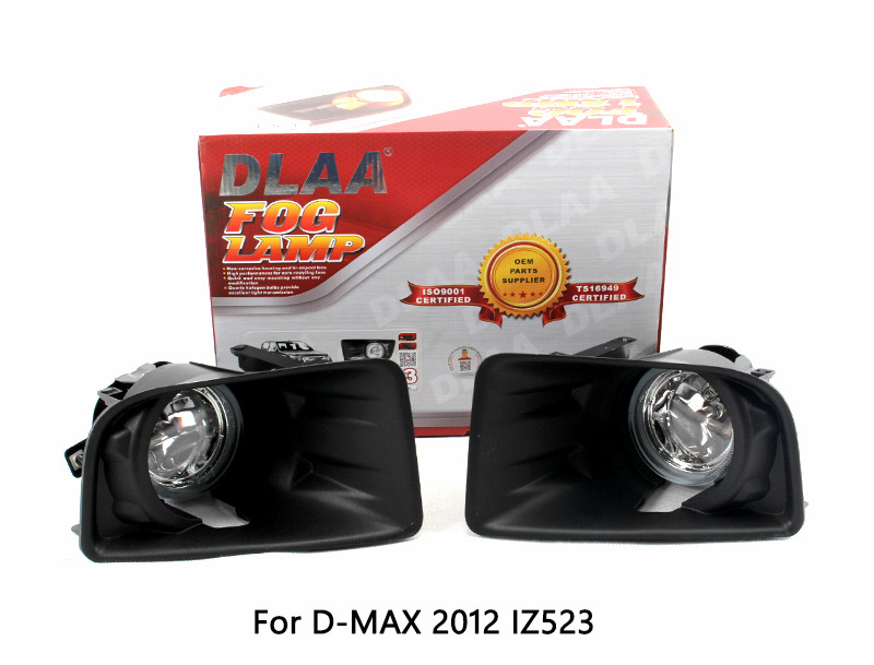DLAA Fog Lamp Set Bumper Lamp For D-MAX 2012-2014