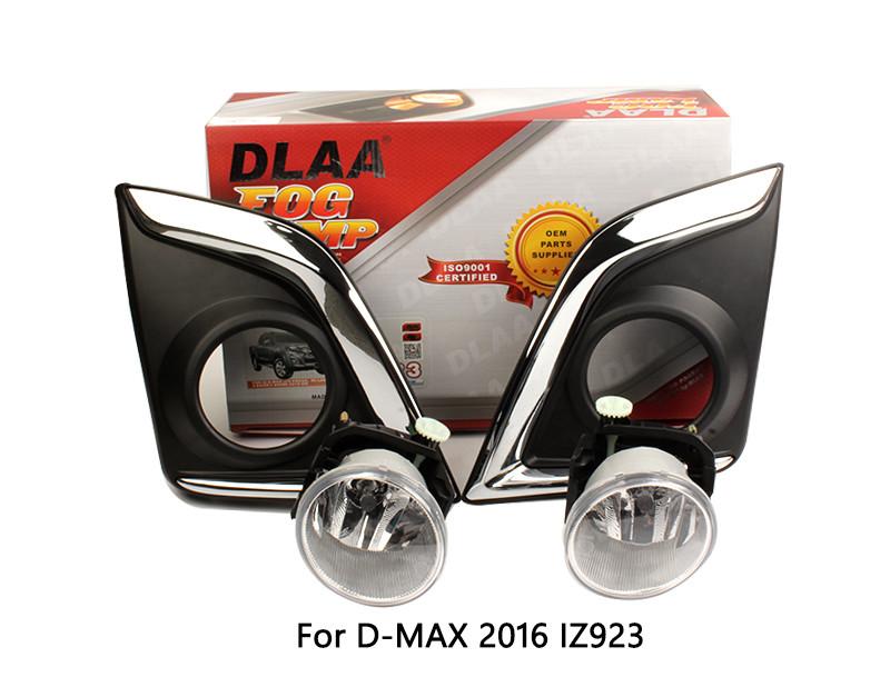 DLAA  Fog Lamp Set Bumper Lamp For D-MAX 2016-ON IZ923