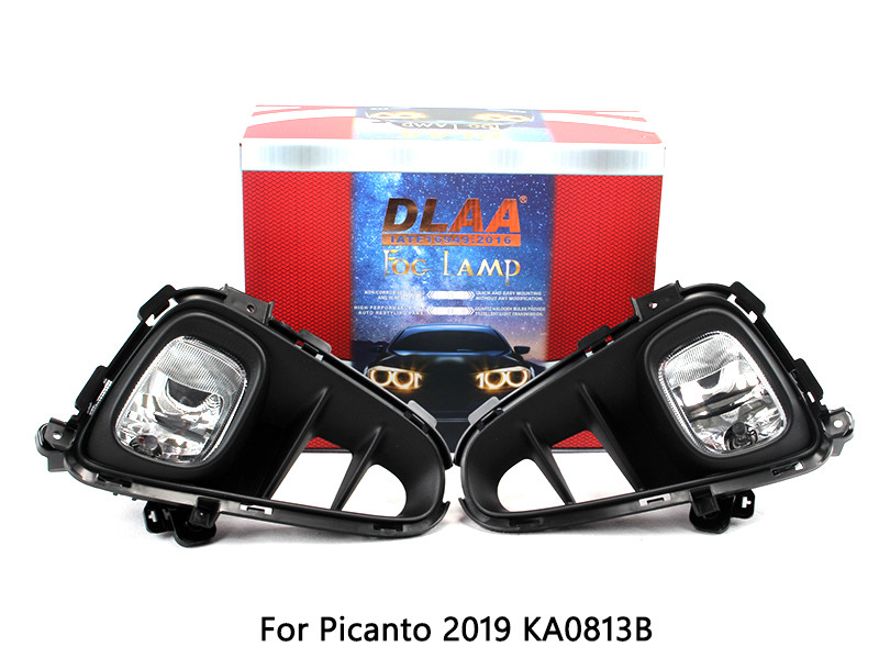 DLAA Fog Lamp Set Bumper Lamp For Picanto 2019 KA0813B