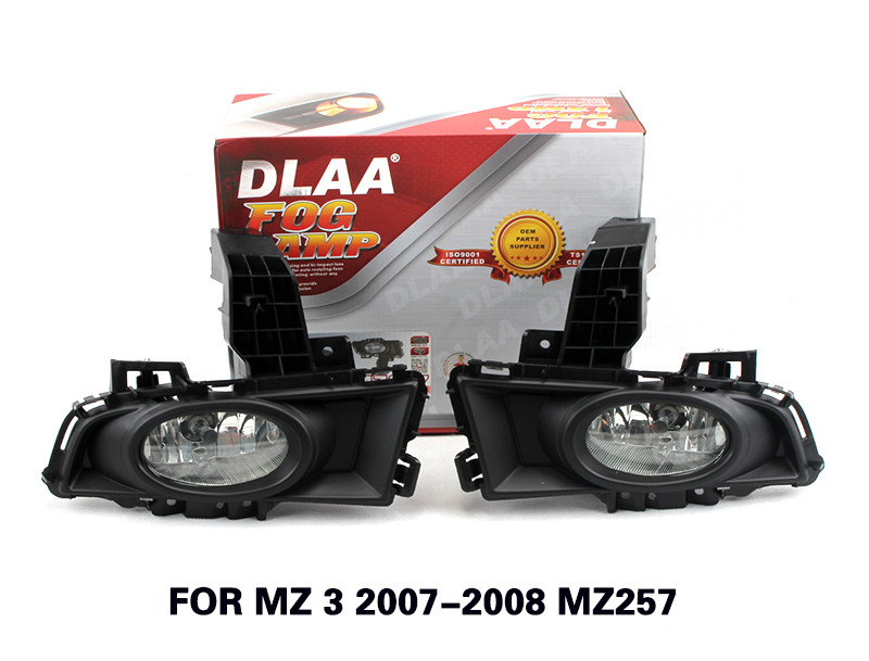 DLAA Fog Lamp Set Bumper Lamp For MZ 3 2007-2008