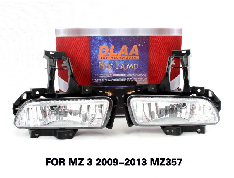 DLAA  Fog Lamp Set Bumper Lamp For MZ 3 2009-2013 MZ357
