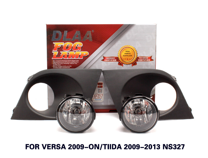 DLAA Fog Lamp Set Bumper Lamp For Versa 2009-ON/Tiida 2009-2013 NS327