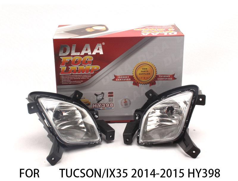 DLAA  Fog Lights Set Bumper Lamp With LED FOR aveo 2010-2011 cv527