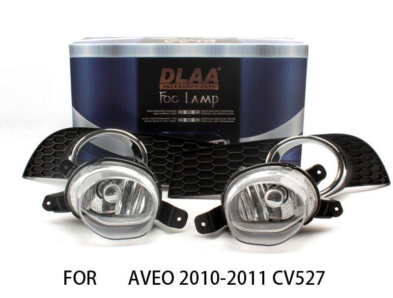 DLAA  Fog Lights Set Bumper Lamp FOR aveo 2010-2011 cv527