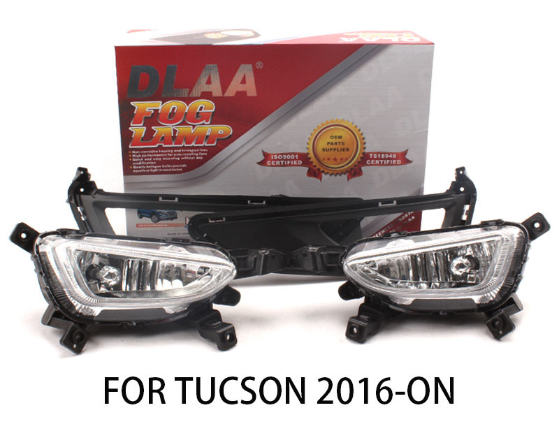 DLAA Fog Lights Set Bumper Lamp FOR TUCSON 2016-ON