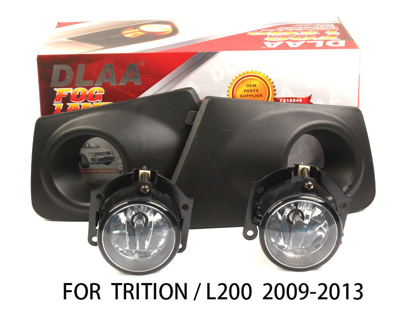 DLAA  Fog Lamp Set Bumper Light For TRITION/L200 2009-2013
