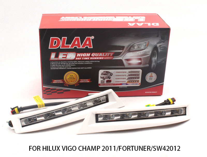 DLAA  Fog Lights Set Bumper Lamp With LED FOR LANCER 2016