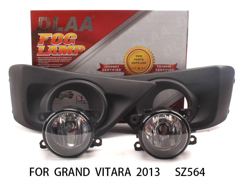 DLAA Fog Lights Set Bumper Lamp FOR GRAND VITARA 2013