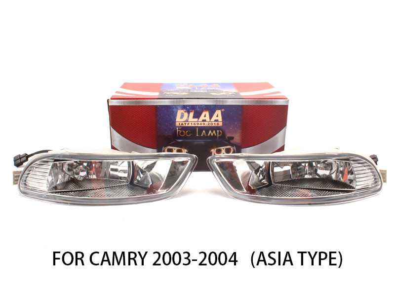 DLAA  Fog Lamp Set Bumper Light  For CAMRY 2003-2004 (ASIA TYPE)
