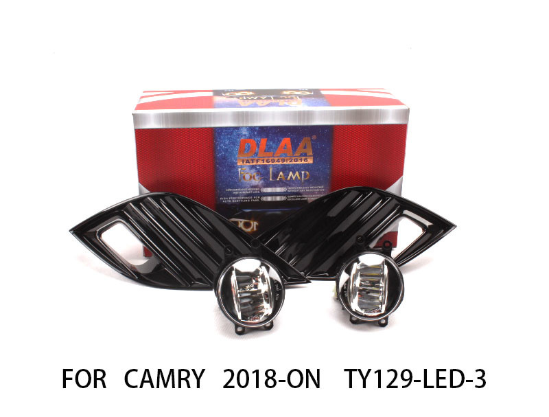 DLAA  Fog Lamp Set Bumper LightS with led For CAMRY 2018-ON