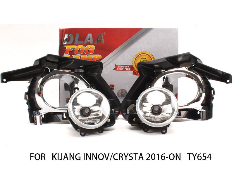 DLAA  Fog Lamp Set Bumper Light with WIRE HARNESS For KIJANG INNOVA/CRYSTA 2016-ON