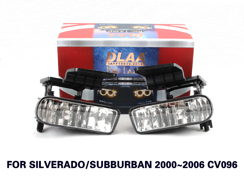 DLAA Fog Lamp Set Bumper LightS with led For Silverado 2000-2006/suburban 2000-2004