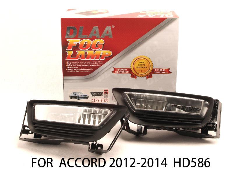 DLAA  Fog Lamp Set Bumper Lights FOR Accord 2012-2014