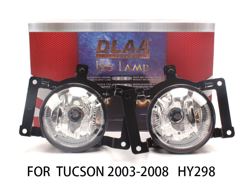 DLAA  Fog Lamp Set Bumper Lights FOR Tucson 2003-2008