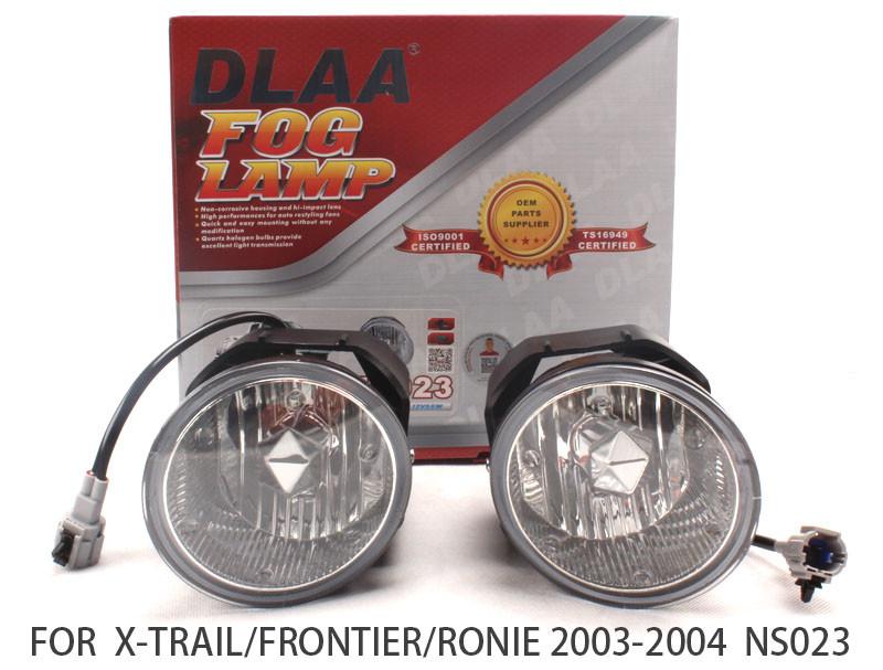 DLAA  Fog Lights Set Bumper Lamp FOR X-TRAIL/FRONTIER/RONIE 2003-2004