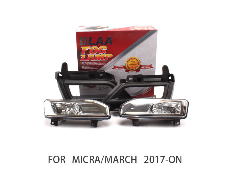 DLAA  Fog Lights Set Bumper Lamp FOR MICRA/MARCH 2017-ON NS727