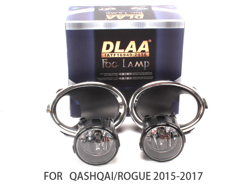 DLAA  Fog Lights Set Bumper Lamp FOR QASHQAI/ROGUE 2015-2017  NS782