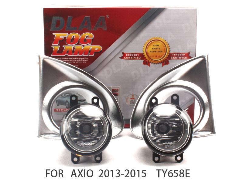 DLAA  Fog Lights Set Bumper Lamp FOR Sienna 2012-2016 TY350