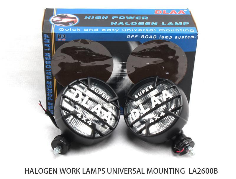 DLAA  Halogen fog lamp Spot Lights 7