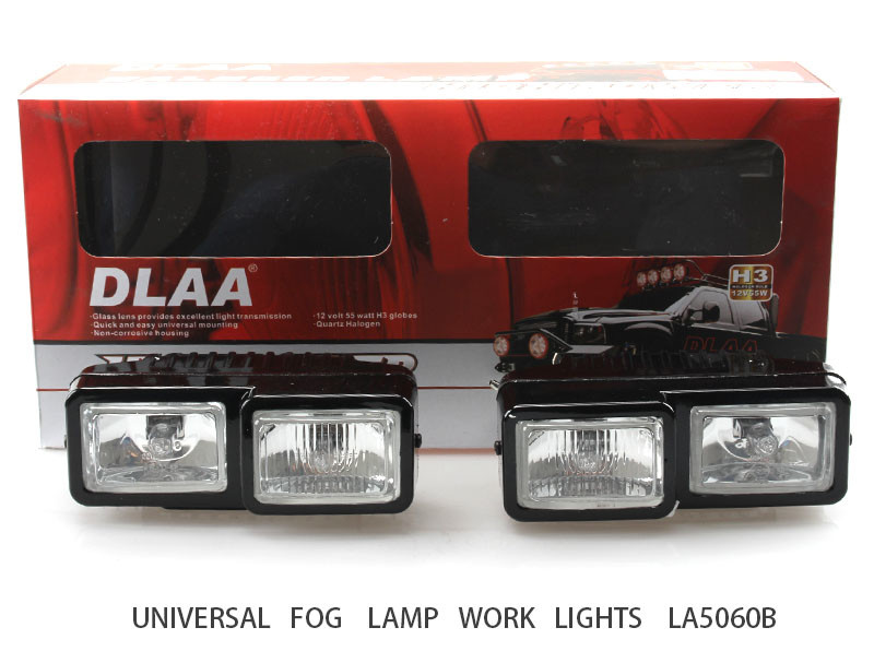 DLAA Round Off Road Driving Halogen Fog Led Work Light Lamp Spot light FD FOR 4X4 Jeep LA5060B