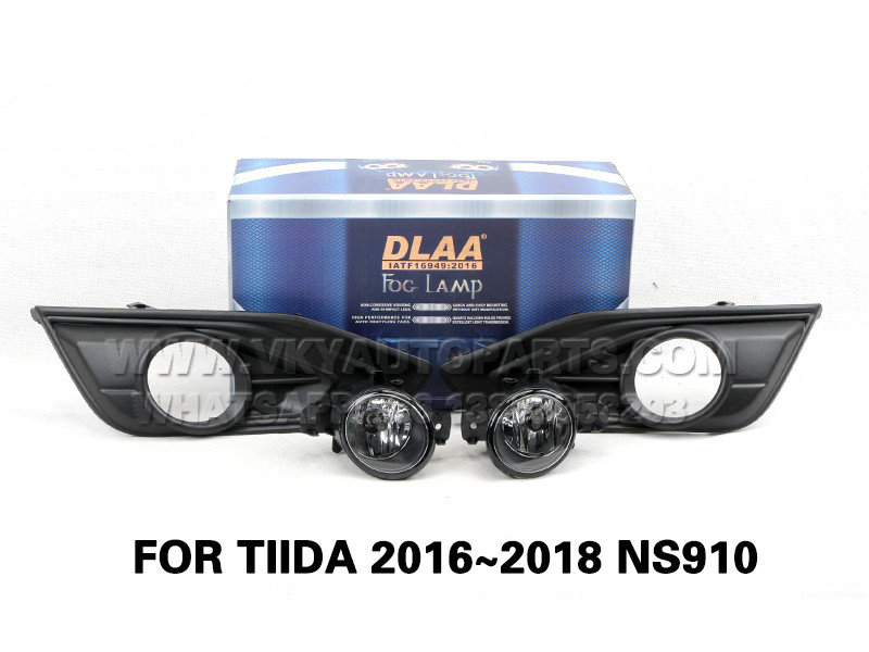 DLAA Fog Lamp Set Bumper Lights FOR TIIDA 2016~2018 NS910