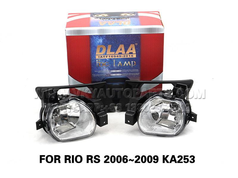 DLAA Fog Lamp Set Bumper Lights FOR RIO RS 2006~2009 KA253