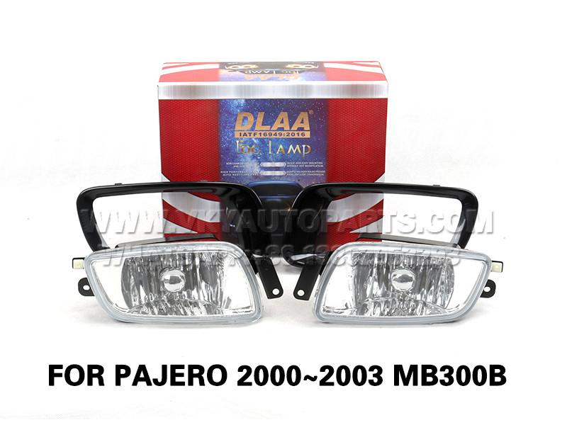 DLAA Fog Lamp Set Bumper Lights FOR PAJERO 2000~2003 MB300B