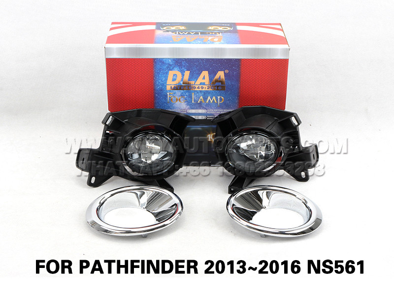 DLAA Fog Lamp Set Bumper Lights  FOR PATHFINDER 2013~2016 NS561