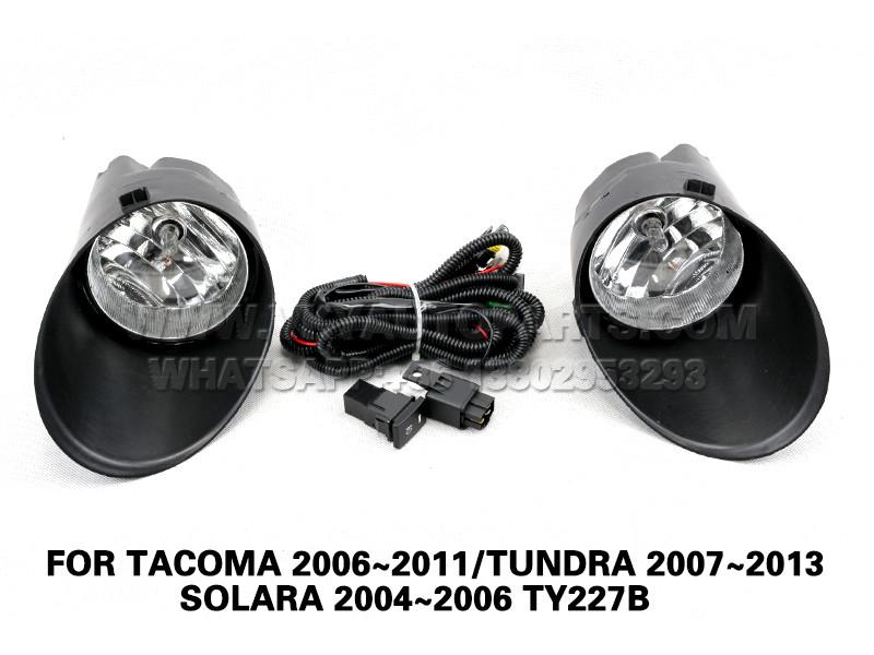 DLAA Fog Lamp Set Bumper Lights FOR TACOMA 2006~2011/TUNDRA 2007~2013/SOLARA 2004~2006 TY227B