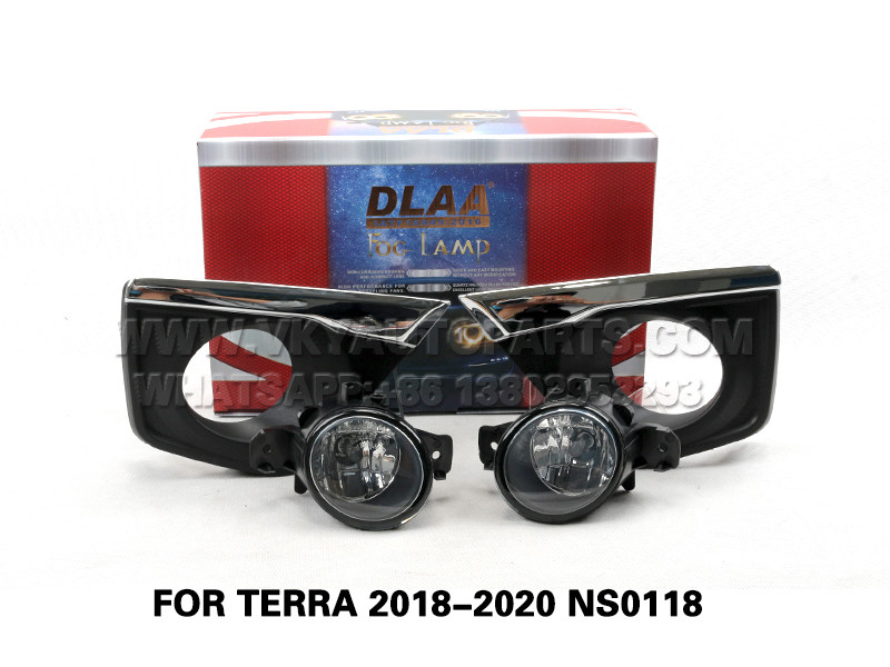 DLAA Fog Lamp Set Bumper Lights FOR TERRA 2018-2020 NS0118