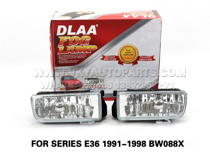 DLAA Fog Lamp Set Bumper Lights FOR SERIES E36 1991-1998 BW088X