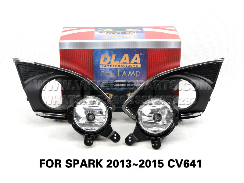 DLAA Fog Lamp Set Bumper Lights FOR SPARK 2013~2015 CV641